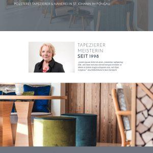 Dandachi's Auftritt im WWW | Dekorationshaus Dandachi | Polsterei, Näherei und Tapeziermeister in St. Johann